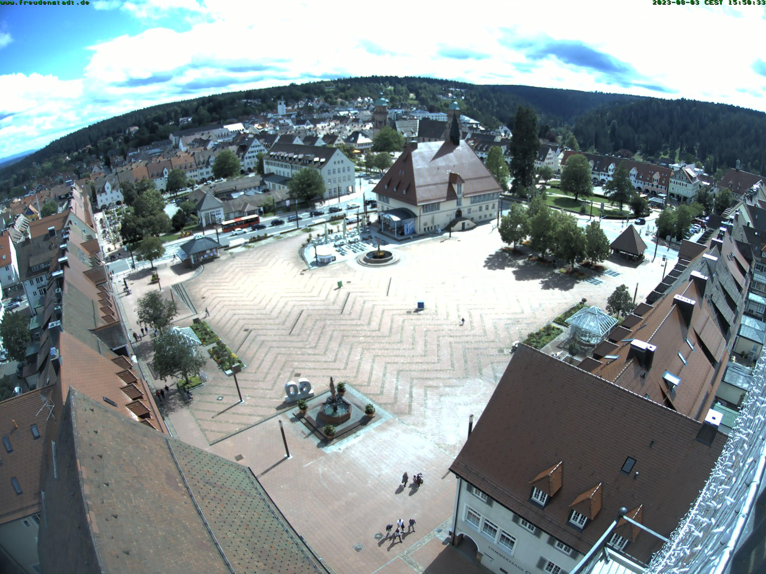 Webcam Freudenstadt (oberer Marktplatz)