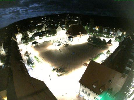 Webcam mit Blick auf den oberen Marktplatz