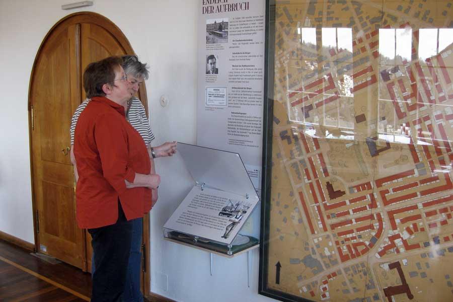 """Das """"Wunder von Freudenstadt"""" dargestellt im Museum im Stadthaus"""