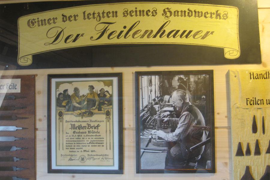 Die Feilenhauerei Bührle ist die jünste Erwerbung des Heimat- und Museumsvereins.