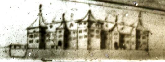 Schloss Freudenstadt Skizze