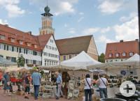 Impressionen vom Töpfermarkt auf dem oberen Marktplatz
