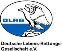 DLRG- Logo mit Schriftzug