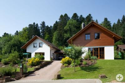 Schwarzwald Chalets Außenansicht