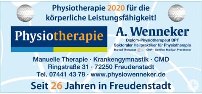 Wenneker Physiotherapie Freudenstadt