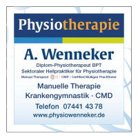 Wenneker Physiotherapie Icon 2020
