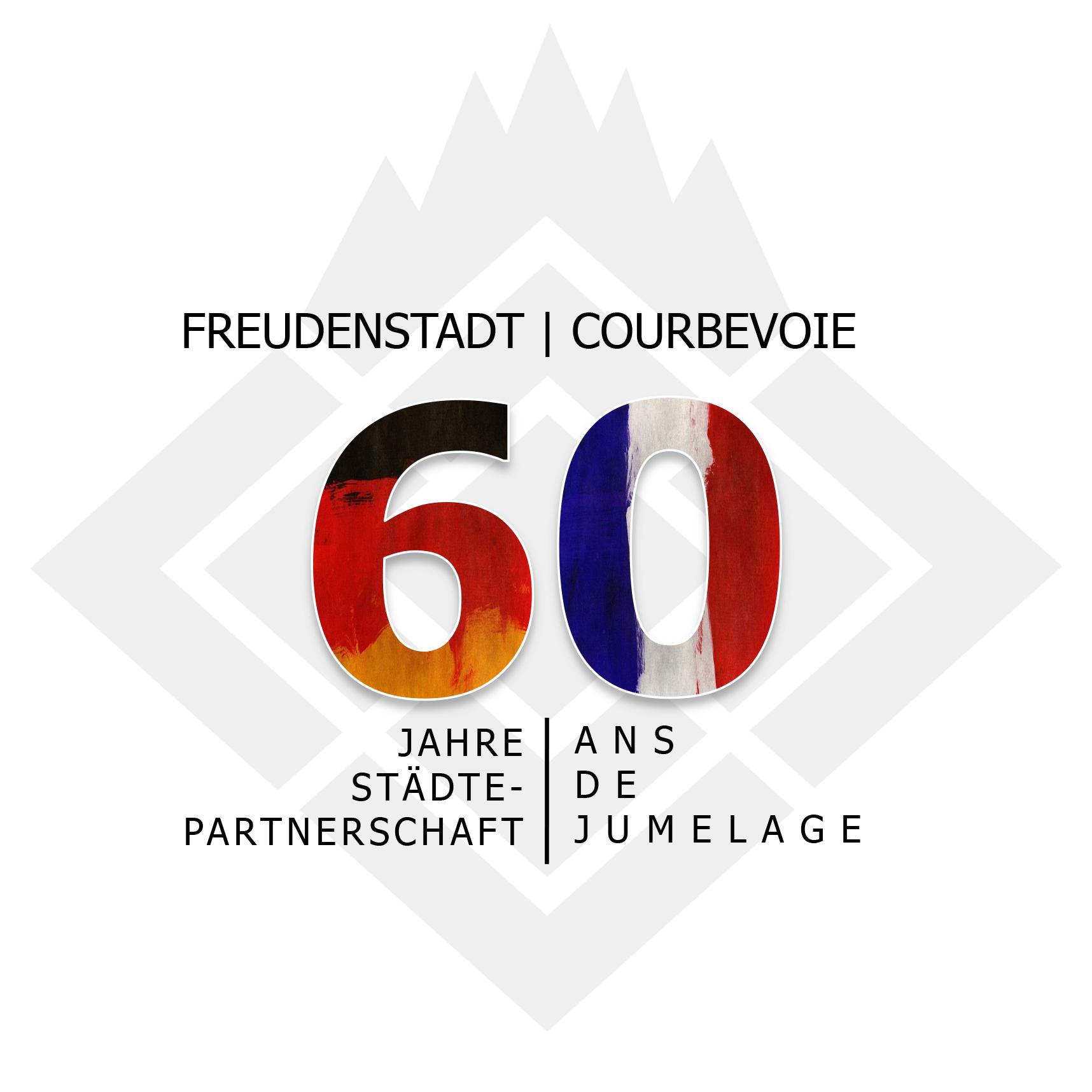 Logo Partnerschaftsjubläum