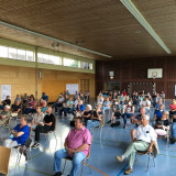 Bürgerinnen und Bürger bei der Veranstaltung in Wittlensweiler