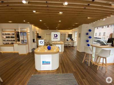 DTec-Shop Innenansicht