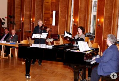 Musikalische Gestaltung der Mitgliederversammung am 13. April 2011