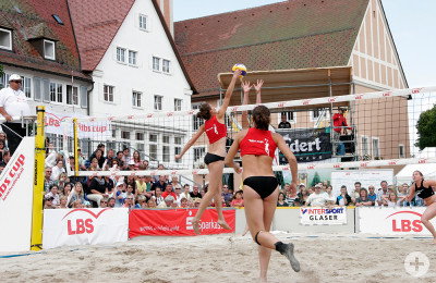 Beachvolleyball LBS Cup