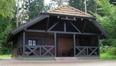 Rappenhütte von vorne