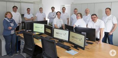 das Team der netmin computer GmbH