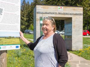 Ellen Bidermann-Hoppart - Leiterin Besucherzentrum Kniebis