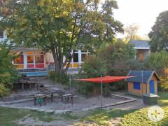 Der Garten des Kindergartens in Dietersweiler