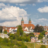 Blick auf Freudenstadt vom Christophstal