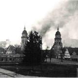 Die brennende Stadt