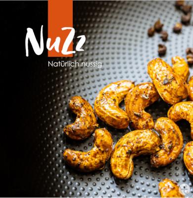 NuZz - Natürlich nussig. Nüsse und Kerne mit aufregenden Gewürzen neu kombiniert.
