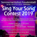 Sing Your Song Contest