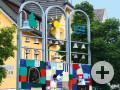 Glockenspiel an der Martin-Luther-Straße