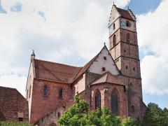 Blick auf das Kloster in Alpirsbach