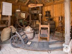 Ausstellungsbereich im Dorfmuseum Dietersweiler