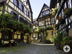 Die Engelgasse in Gengenbach