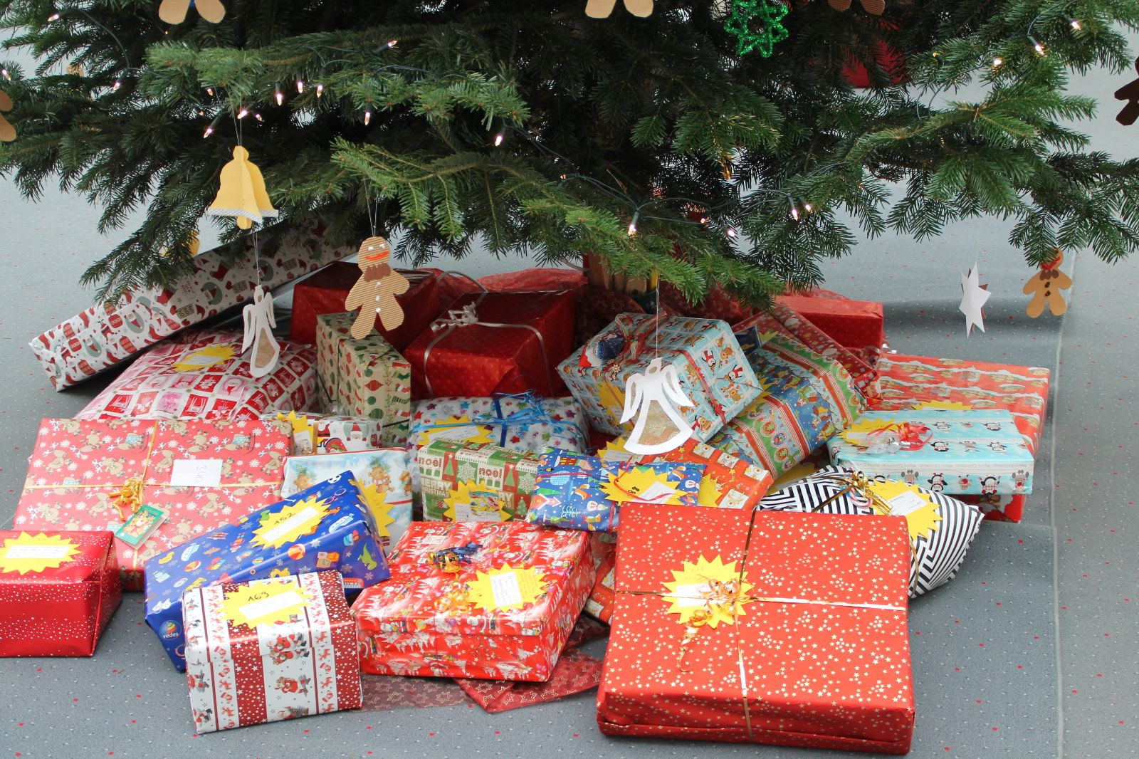 Aktion Weihnachtssterne