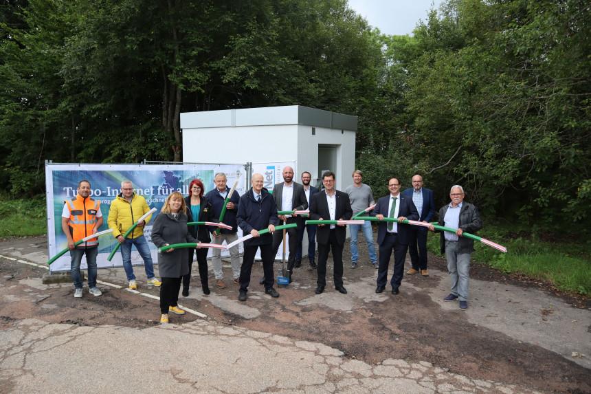Spatenstich Breitband Kniebis September 2021