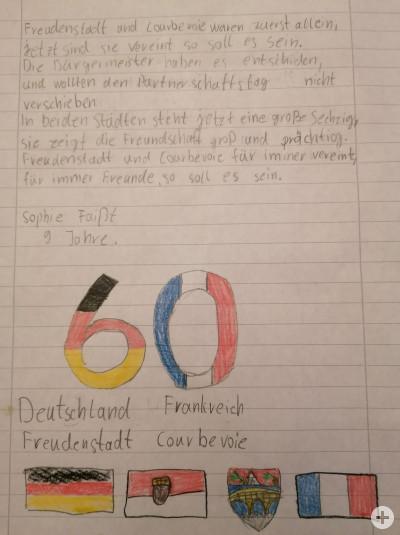 Der Brief eines Kindes zur Städtepartnerschaft