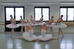 Visitenkarte des Ballett-Instituts Leandra Hagendorn